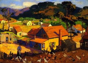 Afternoon Idyl Cambria - Franz Bischoff
