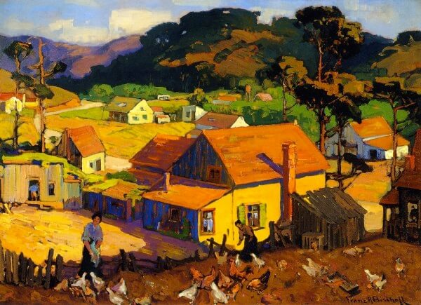Afternoon Idyl Cambria – Franz Bischoff