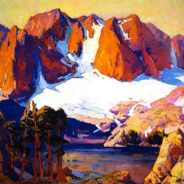 Alpenglow High Sierras - Franz Bischoff
