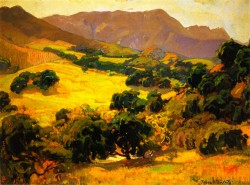 California Oaks - Franz Bischoff