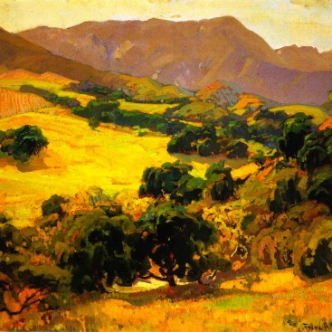 California Oaks - Franz Bischoff