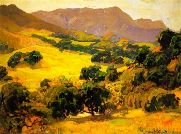 California Oaks – Franz Bischoff