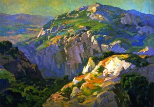 Canyon Green - Franz Bischoff
