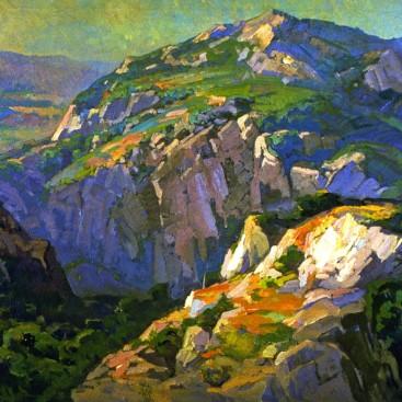 Canyon Green - Franz Bischoff
