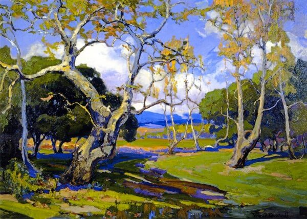 A California Woodland – Franz Bischoff