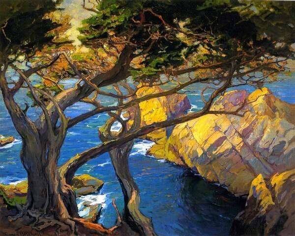 Cleft Born Trees Monterey – Franz Bischoff