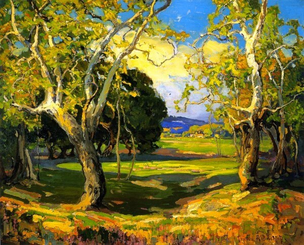Early Spring – Franz Bischoff