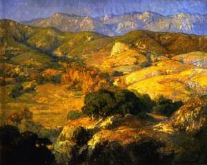 Landscape at Saint Valery sur Somme - Franz Bischoff