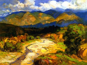 Cloud Shadows - Franz Bischoff
