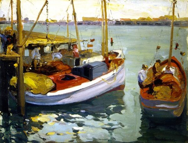 Fishing Boats L A Harbo – Franz Bischoff