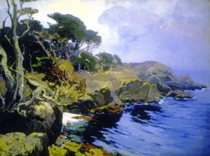 Mist Veiled Days Monterey - Franz Bischoff