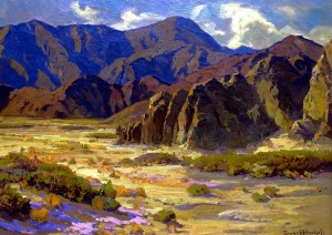Desert Mountains Coachella Valley - Franz Bischoff