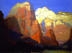 Pinnacle Rock Utah - Franz Bischoff