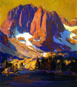 Mount Alice at Sunset - Franz Bischoff