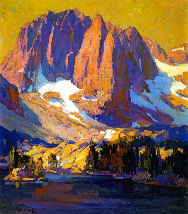 Mount Alice at Sunset – Franz Bischoff