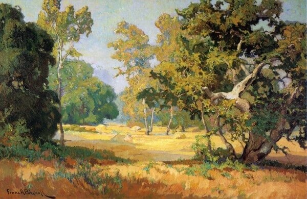 Summer Days California Woodlands – Franz Bischoff