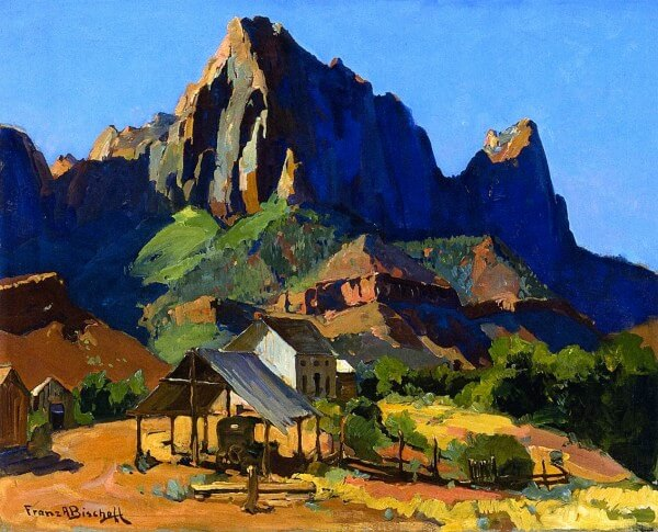 The Watchman Zion National Park Utah – Franz Bischoff