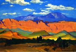 Utah Range - Franz Bischoff