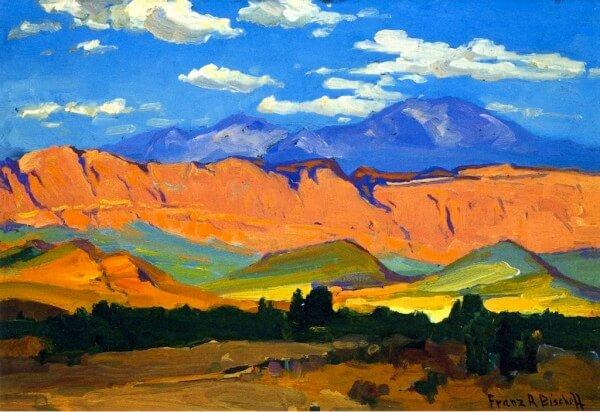 Utah Range – Franz Bischoff