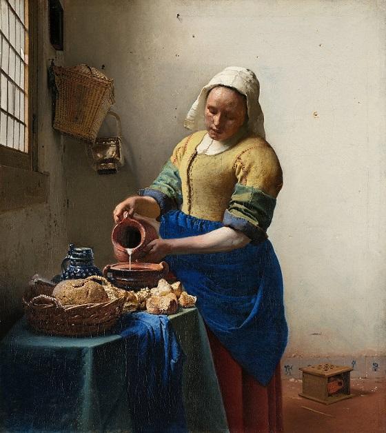 The Milkmaid – Johannes Vermeer