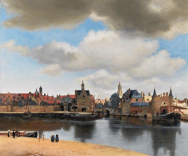 View of Delft – Johannes Vermeer
