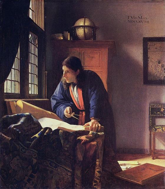 The Geographer – Johannes Vermeer