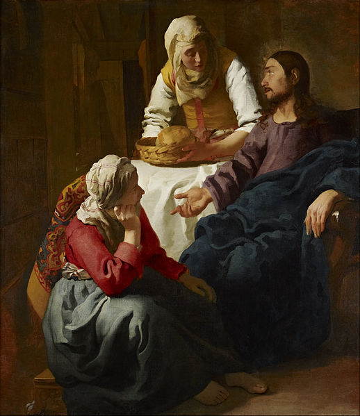 Christ in the House of Martha and Mary – Johannes Vermeer