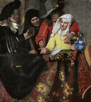 The Procuress - Johannes Vermeer