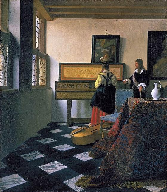 The Music Lesson – Johannes Vermeer