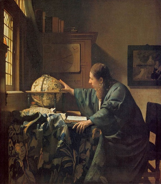 The Astronomer – Johannes Vermeer