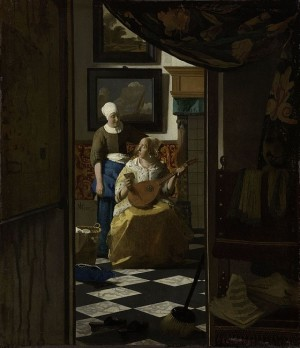 The Love Letter - Johannes Vermeer