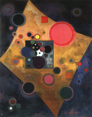Accent in Pink - Wassily Kandinsky