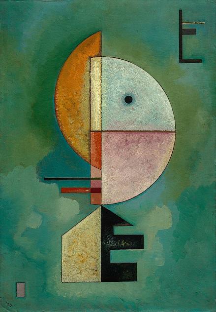 Upward (Empor) – Wassily Kandinsky