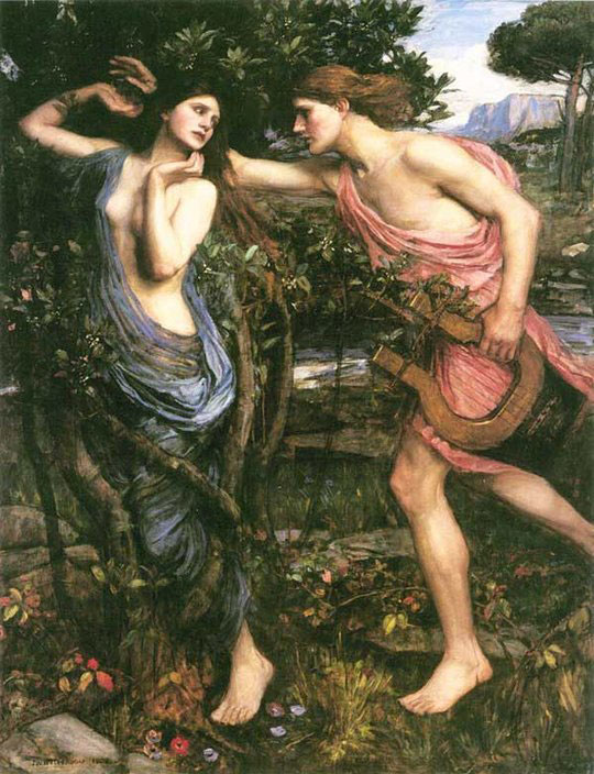 Apollo and Daphne – John William Waterhouse