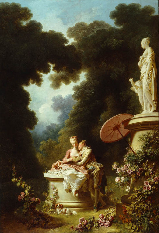 The Progress of Love: Love Letters – Jean-Honore Fragonard