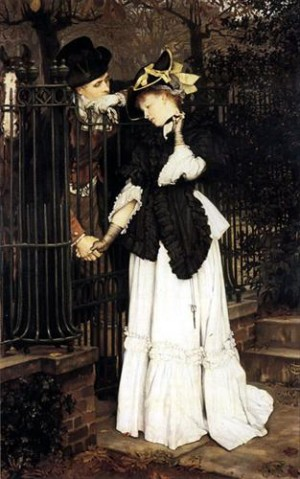 The Farewell - James Jacques Joseph Tissot