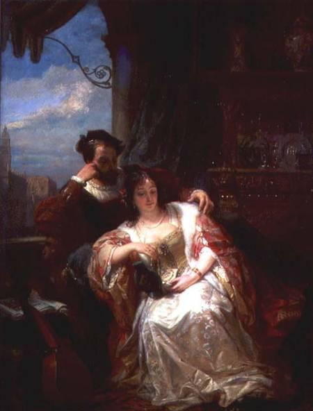 The Lovers Gift – Nicaise de Keyser