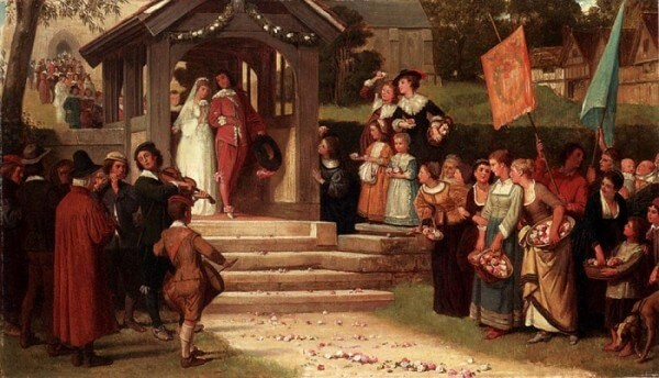 The Path Of Roses – William Frederick Yeames