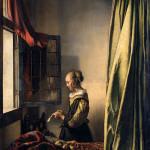 Girl Reading a Letter by an Open Window - Johannes Vermeer