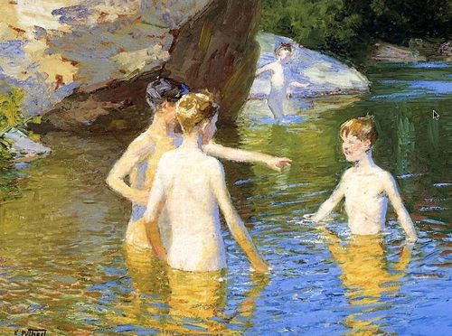 In Summertime – Edward Henry Potthast