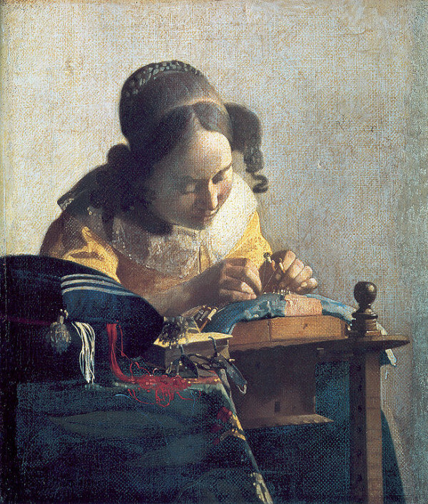 The Lacemaker – Johannes Vermeer