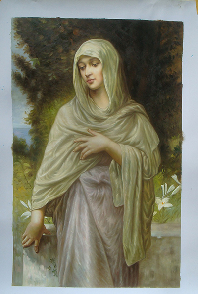 Modestie by William Bouguereau