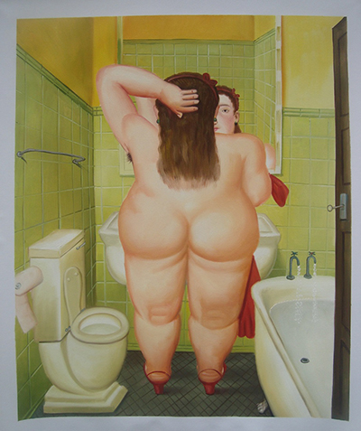 Botero The Bathroom