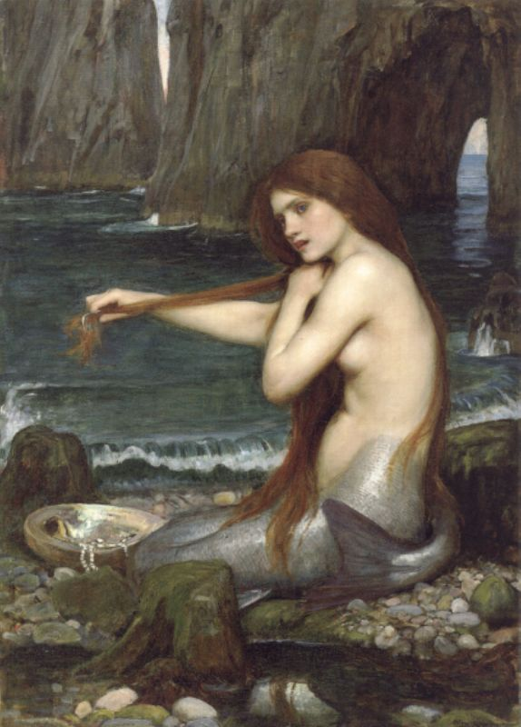 A Mermaid – John William Waterhouse