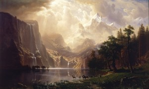 Among The Sierra Nevada Mountains - Albert Bierstadt