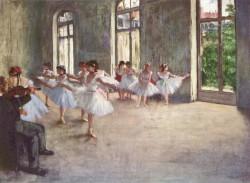 Ballet Rehearsal - Edgar Degas