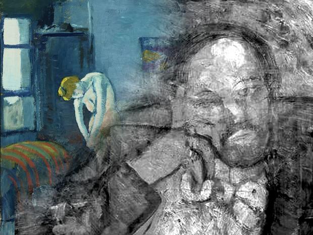 Blue Room original painting revealed