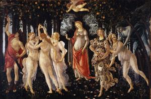 Primavera - Sandro Botticelli