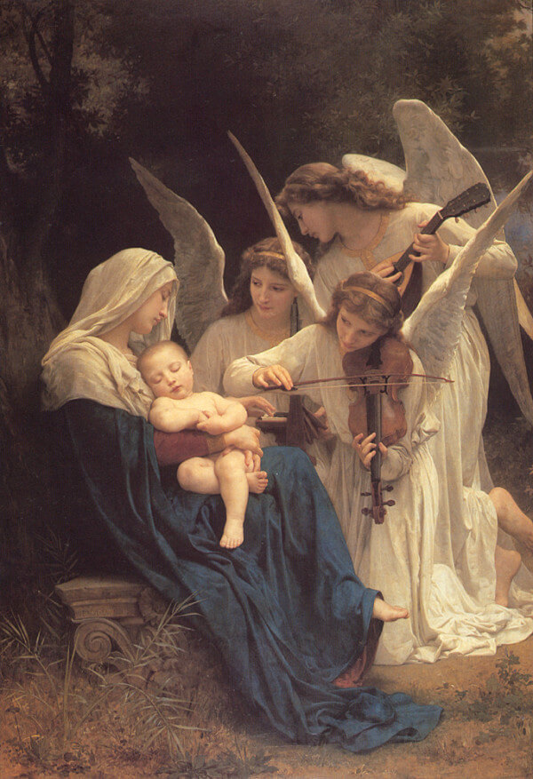 Song of the Angels – William-Adolphe Bouguereau