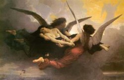 A Soul Brought to Heaven - William-Adolphe Bouguereau